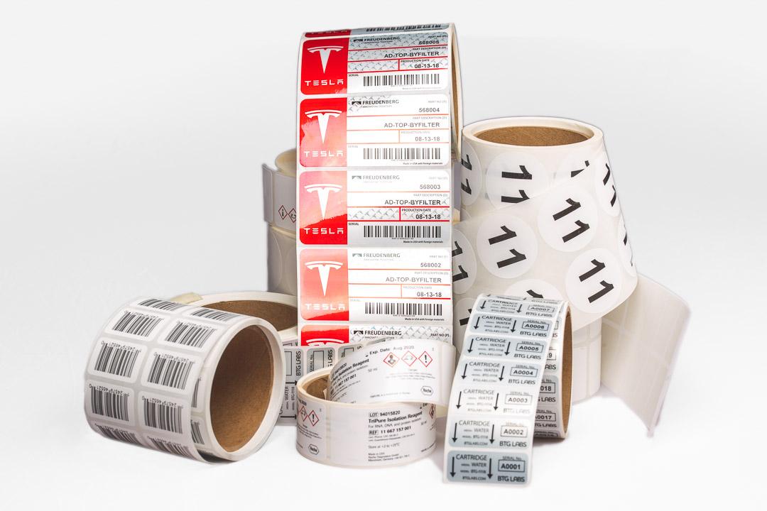 vinyl stickers-Mr. Label Thermal Transfer - Blank - Direct Transfer
